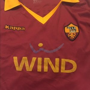 4f664b42f Kappa Other - AS Roma ASR Football Jersey Home WIND Kappa Totti